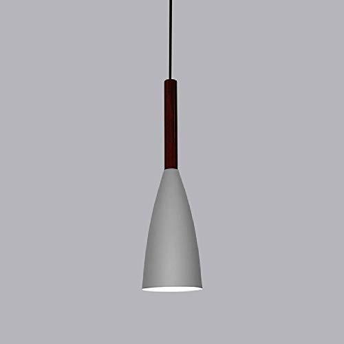 Luces colgantes de madera moderna lámpara nórdica Hanglamp Sala de estar Restaurantes Cocina Comedor Bar dormitorio decoración E27 LED Droplight