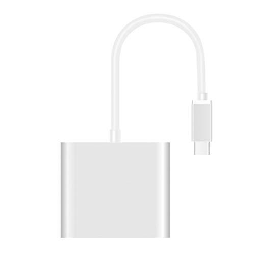 BiaBai 1 a 3 USB3.1 Tipo-C Convertidor Tamaño USB Hembra a Tipo C Macho Adaptador de cable Tipo-C