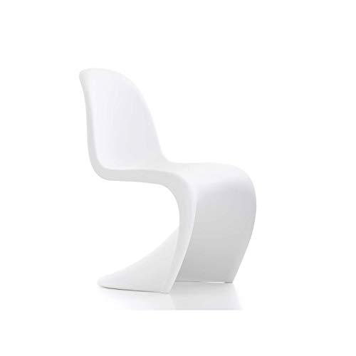 Vitra Silla Panton Chair Color Blanco - Verner Panton