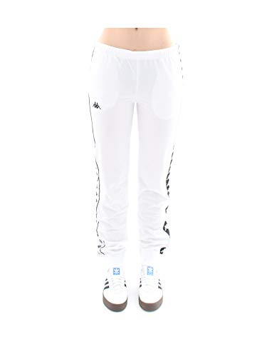 Kappa Pantaloni Sportivi 222 Banda Wrastoria Slim Bicolore - Bianco, L
