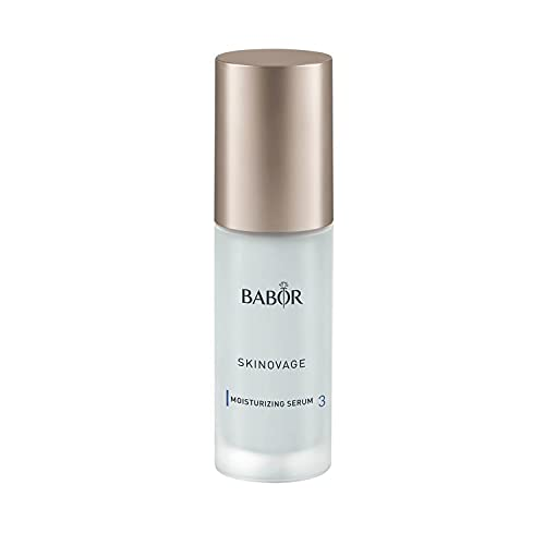 BABOR SKINOVAGE Moisturizing Serum para pieles secas, Sérum antiedad par hidratar el rostro, Sin alcohol, Fórmula vegana, 1 x 30 ml