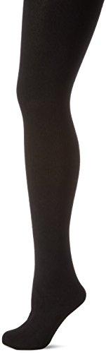 Ulla Popken Große Größen Damen Strumpfhose Strickstrumpfhose, Fein Schwarz (Schwarz 10), XXX-Large (Herstellergröße: 52+)