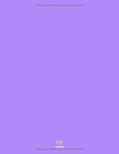 PepMelon: - Gepunktetes Notizbuch / Dotted bullet journal notebook A4 paper block - 108 Seiten Tagebuch, dot points grid / gepunktetes Papier, ... Heft DIN A4, Soft Cover (matt), Lila (Purple)