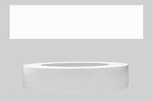 Mprofi MT® (20m rollo) Cantoneras laminadas melamina para rebordes con Greve Blanco Liso 22 mm