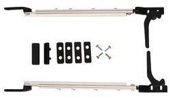Brunner 208/000-1 - Deflettore automatico per finestra da camper, con catenaccio, 230 mm, confezione self-service da 2 pezzi