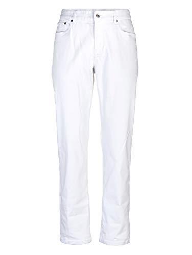 Roger Kent Herren 5-Pocket Hose Weiß 46 Baumwolle