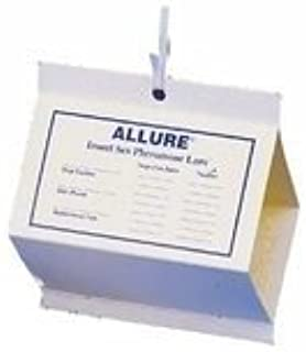 4 Allure Moth Traps, 6 Diamond Shaped Pantry Pest Moth Control Pheromones Traps