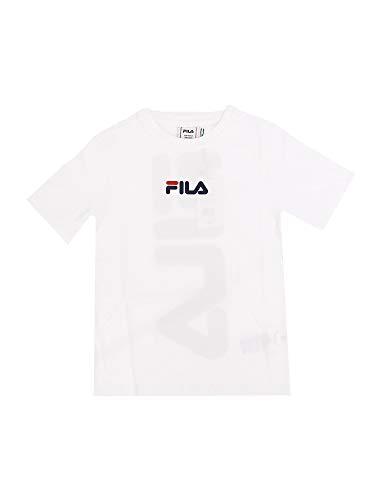 Fila T-Shirts And Tops 688326 Ragazzo Bianco 16A/166cm