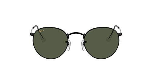 Ray-Ban Gafas de Sol ROUND METAL RB 3447 Black/G- Classic Green 53/21/145 unisex