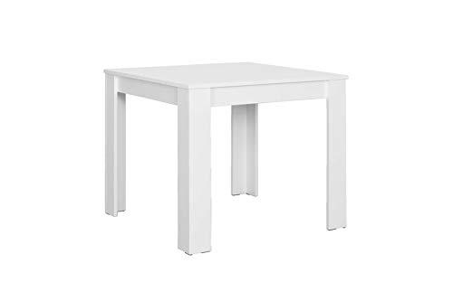 Homexperts Nick Tisch, Spanplatte, Weiß, 90 x 90 cm
