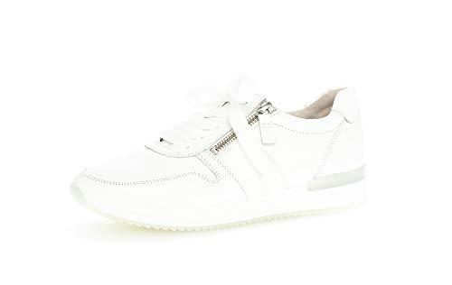Gabor Damen Halbschuhe, Frauen Sneaker,lose Einlage,Best Fitting,Ladies,Women's,Woman,schnürschuhe,schnürer,Halbschuhe,Lady,Weiss,37 EU / 4 UK