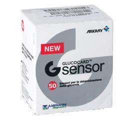 GLUCOCARD G SENSOR - 50 Tiras Reactivos Test de Glucemia - GSENSOR