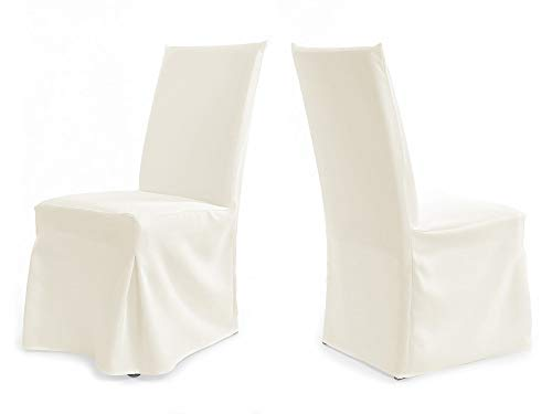 Universal sedia hussen Per molto alto schienale fino a 112 cm - PARIS PLUS Crema