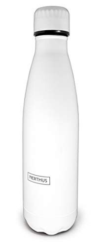 Nerthus Botella FIE 130 Termo Doble Pared Vintage de Acero Inoxidable