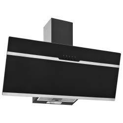 vidaXL Campana Extractora RGB de LED Accesorios Cocina Extraer Escape Humos Grasa Humedad Calor Lavable Luces de Acero INOX Vidrio Templado