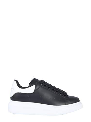 Alexander McQueen Luxury Fashion Damen 553770WHGP51070 Schwarz Leder Sneakers | Jahreszeit Permanent
