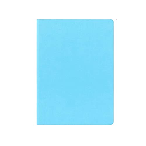 Guomipai Classic Writing Notebook A4 College Studens Dedicated Notebook, Pen Notebook Classic, Minutos de Cuadernos, Marrón 8.2'* 11.6' Diario (Color : Blue)