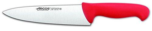 Arcos 292 Cuchillo, Acero Inoxidable, Rojo, 200 mm