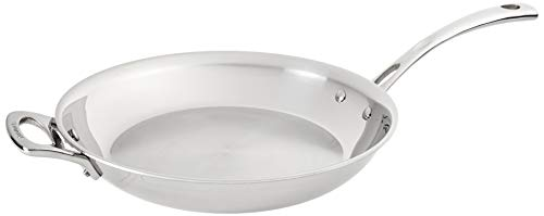Cuisinart French Classic Tri-Ply Stainless 12-Inch Fry Pan with Helper