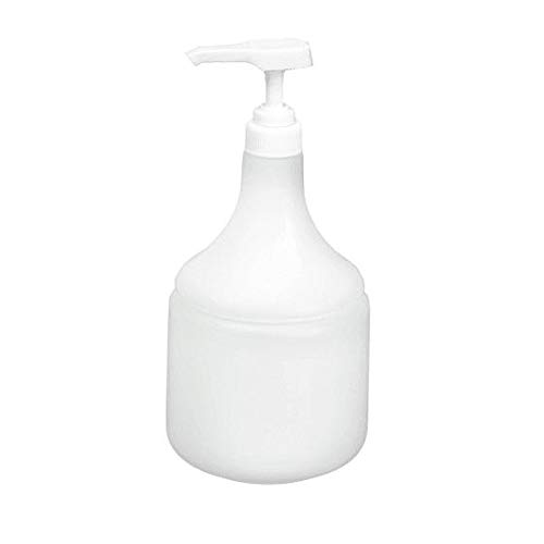 SIBEL Shampoo dispensing bottle - pump action - LARGE 1000ml