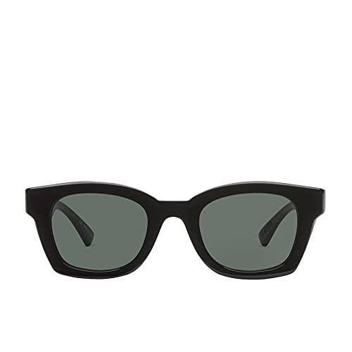Von Zipper Gabba Gafas De Sol Talla Única Negro Brillo ~ Gris Vintage