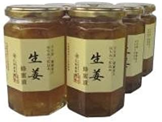 近藤養蜂場 生姜蜂蜜漬 350g×6個セット
