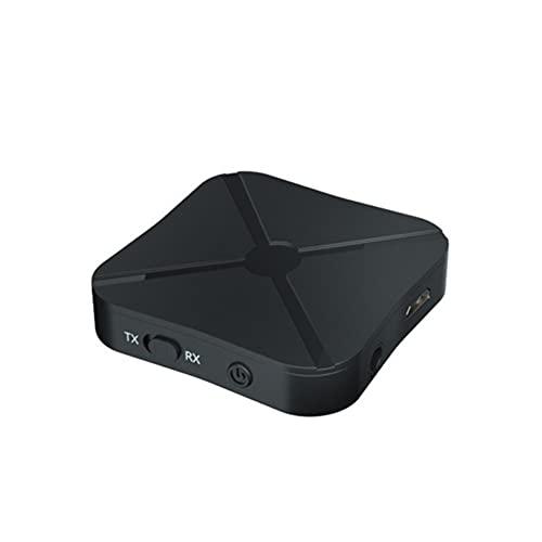 Q&N 2 En 1 Receptor Y Transmisor Bluetooth 4.2 Adaptador Inalámbrico Bluetooth Audio con Audio AUX De 3,5 Mm para TV En Casa MP3 PC (100/200 Batería Mah) 2 Piezas