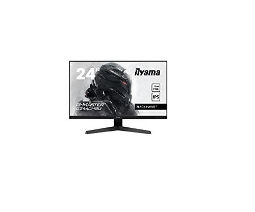 Ecran iiyama 24' G-Master G2440HSU-B1 Black Hawk, IPS LED, FreeSync, FHD, 1xHDMI, 1xDisplay Port, 2xUSB, 1ms, Black Tuner, speakers