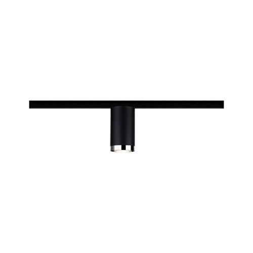 Paulmann 969.18 URail LED-Spot Tube max. 10W GU10 Schwarz matt Metall/Kunststoff