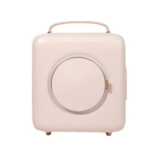 Mxsnow Mini Refrigerador Portátil Belleza Maquillaje Cuidado De La Piel Refrigerador Refrigerador Cosmético Compacto Snjiaheim Es Adecuado para-Pink