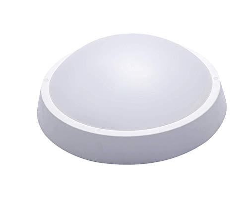 Luminario de Exterior e Interior LED Sobreponer 18 W PLANET, Luz Cálida 3000K, IP 65 Resistente a Agua, Vapor, Polvo y Humedad.