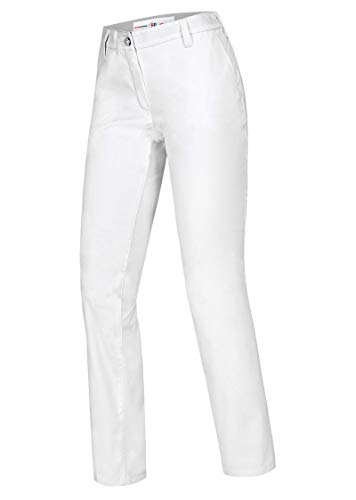 BP 1734-686-21-38n Frauen-Chinos, Stretch-Stoff, 230,00 g/m² Stoffmischung mit Stretch, weiß, 38n