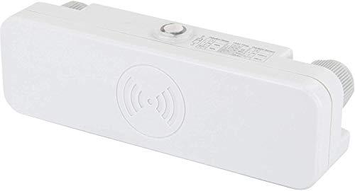 Buitenkant hoogfrequent Slim bewegingsmelder IP65 180° met schemeringssensor 230V - geschikt voor LED