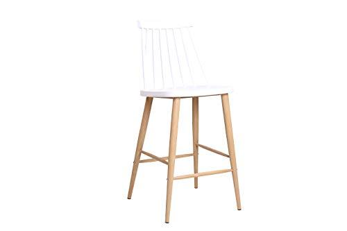 Icons Corner Taburete Fanett de Diseño Blanco