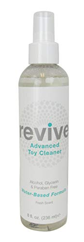 Shibari Toy Cleaner 8 Ounces, Alcohol, Glycerin, Paraben Free (Revive Fresh)