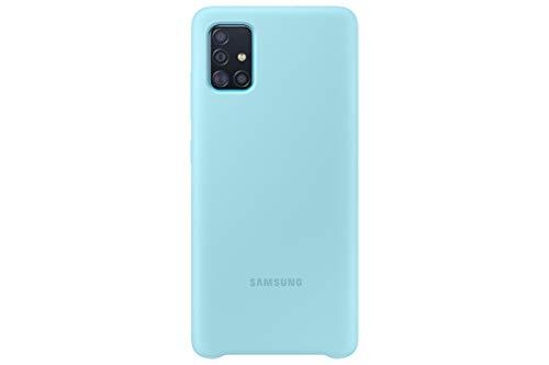Samsung  A51  -  Carcasa de silicona, color Azul