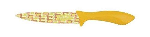 Tramontina Couteau de cuisine Jaune 6''