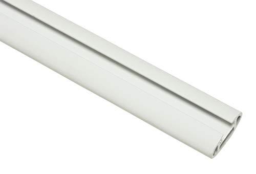 GARDINIA Trägerverlängerung für universal Wandträger, Serie: Chicago, Länge: 18 cm, Metall, Weiß