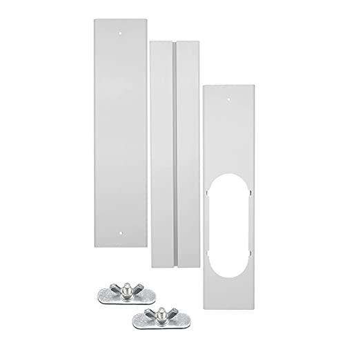 Oyria - Piastra di tenuta per condizionatore d'aria portatile, universale, regolabile, kit di ricambio per condizionatore d'aria portatile, piastra di tenuta per finestra