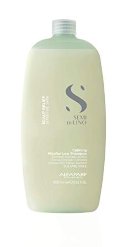 Alfaparf Semi Di Lino Scalp Relief Calming Micellar Low Shampoo 1000ml - Shampoo Delicato Lenitivo