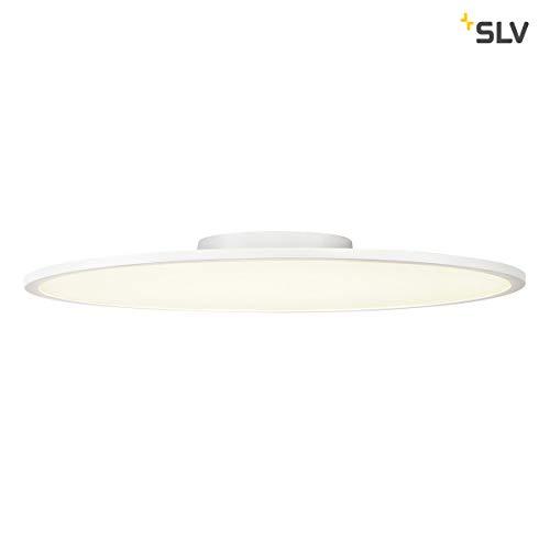 SLV PANEL 60 rund, LED Indoor Deckenaufbauleuchte, weiß, 4000K Leuchten Aluminium 42 W