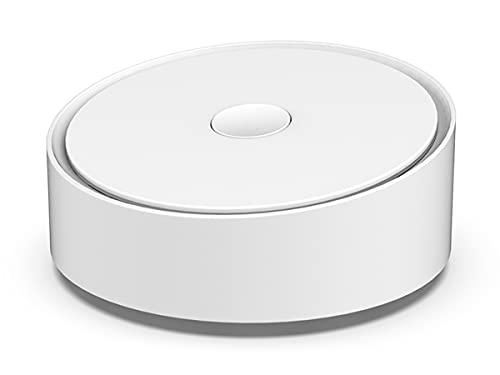 LEDLUX Gateway ZigBee 3.0 WiFi 2.4G Bluetooth Mesh, 3 en 1 con App Tuya Smart Life, redonda elegante, compatible con Amazon Alexa y Google Home