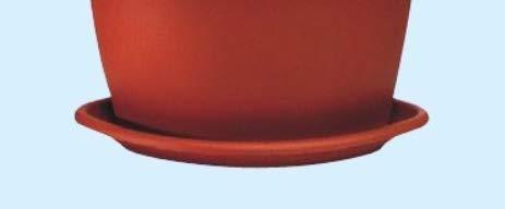 Soucoupe en plastique pour Pot d'angle ICA – 41 x 41 CM H 7 cm