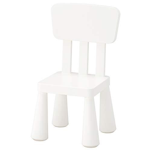 IKEA Mammut Children'S Chair, Indoor/Outdoor, White