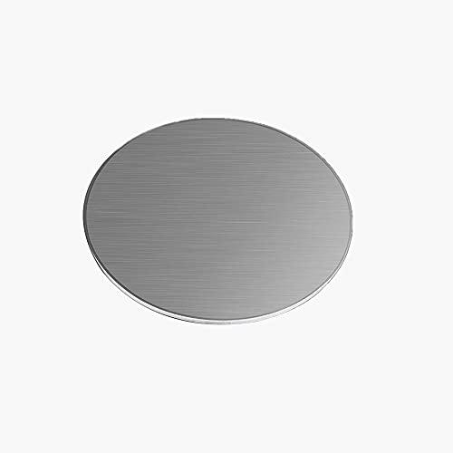 ZQQZ 304 chapas de Acero Inoxidable de 3mm Espesor de la Hoja Redonda DIY Moldes,Diameter:200mm