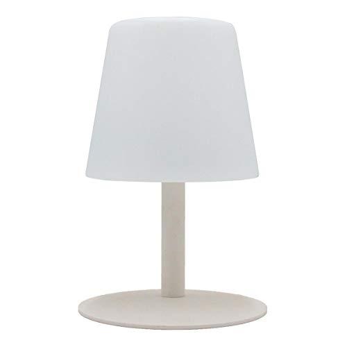 Lumisky tafellamp voor de tuin, draadloos, met accu, standandy, Mini Rock met LED, 26 cm