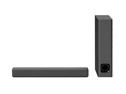 Sony HT-MT300/B Powerful Mini Sound bar with Wireless Subwoofer, Black (Renewed)