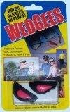 Wedgees Eyeglass Retainers and Eyewear Holders (Pink Riveted)