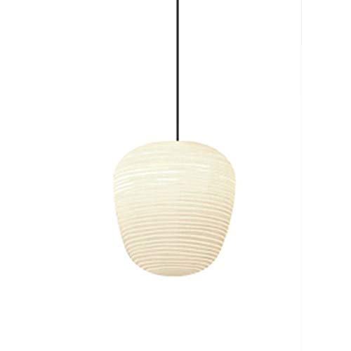 HSCW Moderna minimalista lámparas de las luces colgantes de la lámpara de la sala dormitorio Luces Restaurante Bar luces decorativas Post Modern nórdica blanca roscado lámparas de cristal