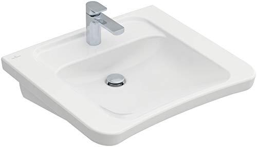 Villeroy & Boch Waschbecken OMNIA architectura vita 65x55cm ohne Überlaufloch 65x55cm weiß alpin mit
